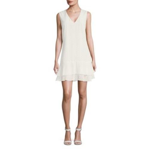 BCBGMAXAZRIA - Chevron Sleeveless Dress
