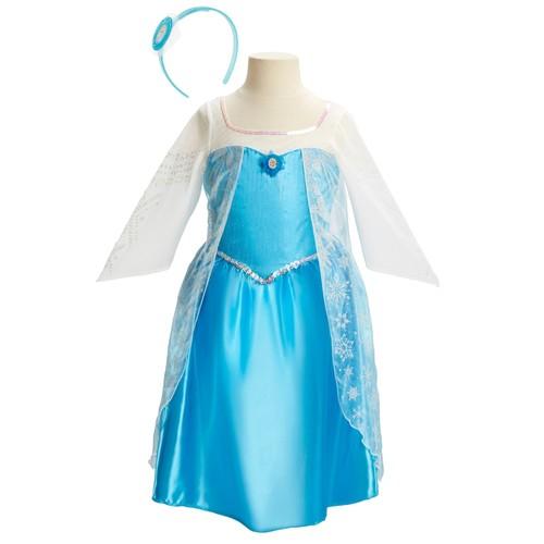 Disney's Frozen Elsa Dress & Headband Set
