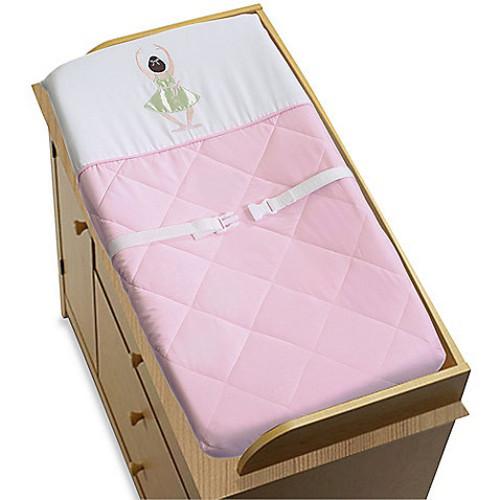 Sweet Jojo Designs Ballerina Changing Pad Cover