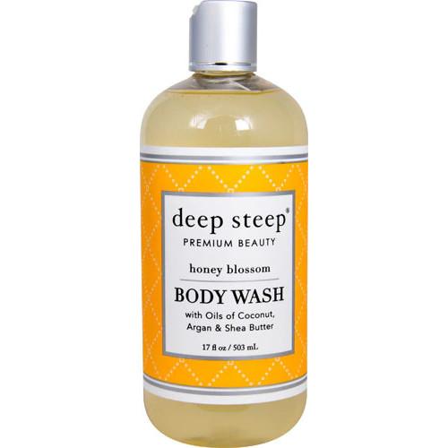 Deep Steep Body Wash Honey Blossom -- 17 fl oz
