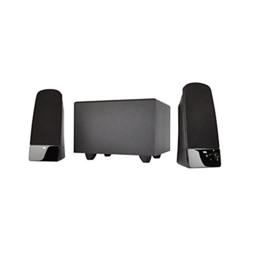 Cyber Acoustics 2.1 Speaker System with Subwoofer, 8Watts RMS