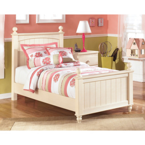Signature Design by Ashley Cottage Retreat Cream Cottage Twin Poster Headboard