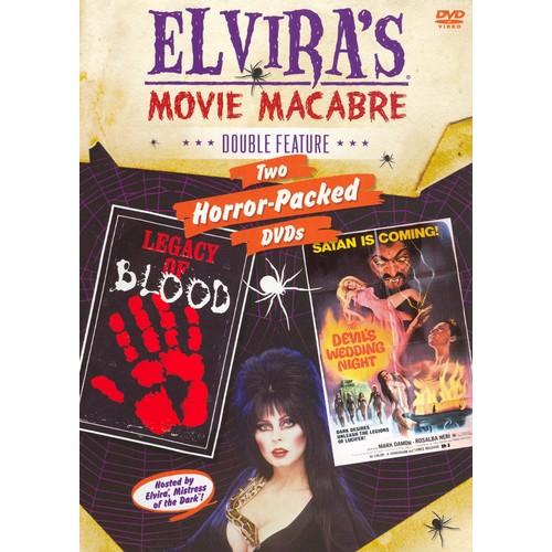 Elvira's Movie Macabre: Legacy of Blood/The Devil's Wedding Night [2 Discs] [DVD]