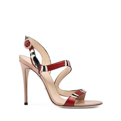 GUCCI Yoko Serpent High Heel Sandals
