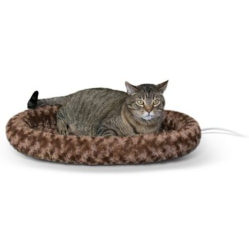 K&H Manufacturing Thermo Kitty Bolster; Brown