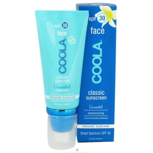COOLA Sun Care - Classic Sunscreen Face Moisturizer Unscented 30 SPF - 1.7 oz.