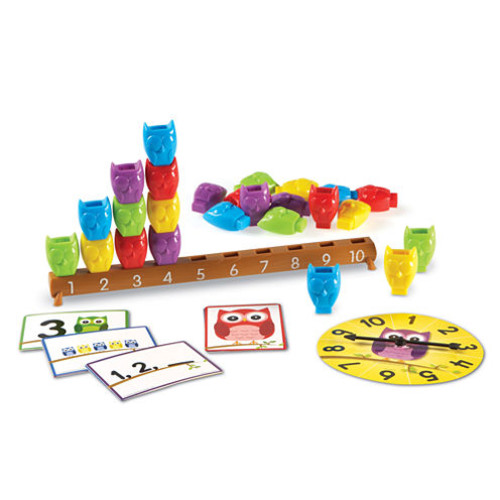 Learning Resources 110 Counting Owls Activity Set