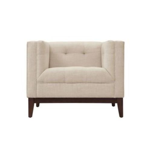 Edgemod Huntington Arm Chair; Beige