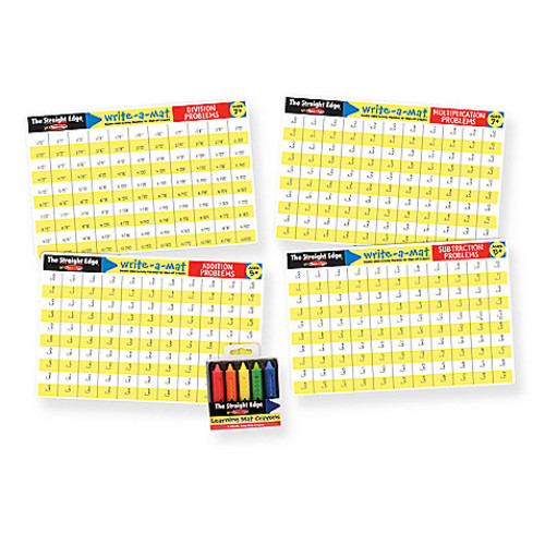 Melissa & Doug Math Skills Placemat Set