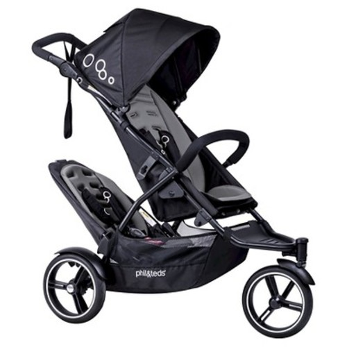 phil&teds Dot Stroller with Second Seat - Graphite