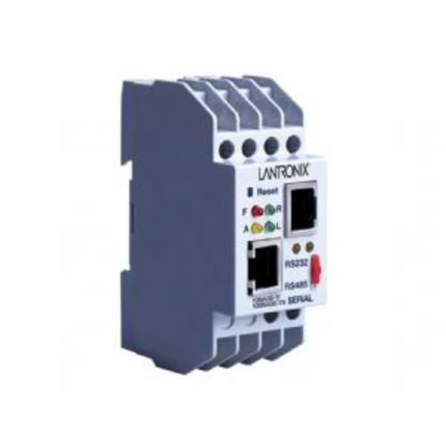 Lantronix Industrial Device Server XPress DR - Device server - 100Mb LAN, RS-232, RS-422, RS-485 - AC 9 - 24 V / DC 9 - 30 V - rail mountable