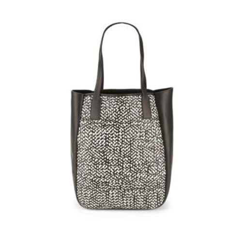 Derek Lam 10 Crosby - Bond Woven Leather Tote Bag