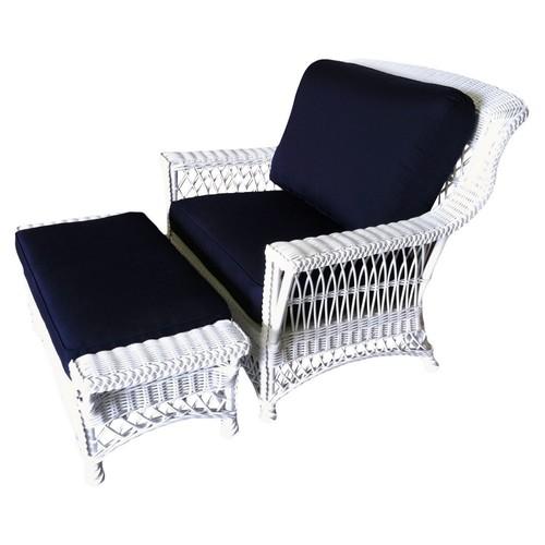 Rockport Chair & Ottoman