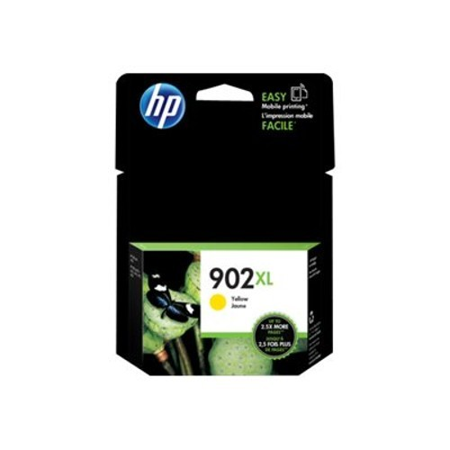 HP Inc. 902XL High Yield Yellow Original Ink Cartridge (T6M10AN#140)