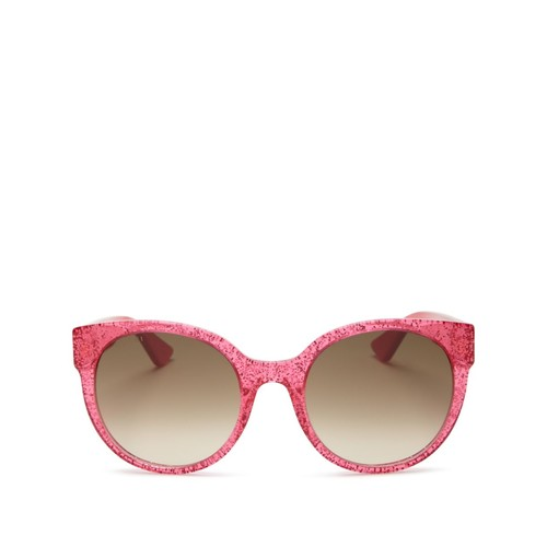 GUCCI Gradient Cat Eye Sunglasses, 54Mm