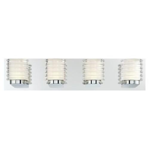 Orren Ellis Elene 4-Light LED Bath Bar