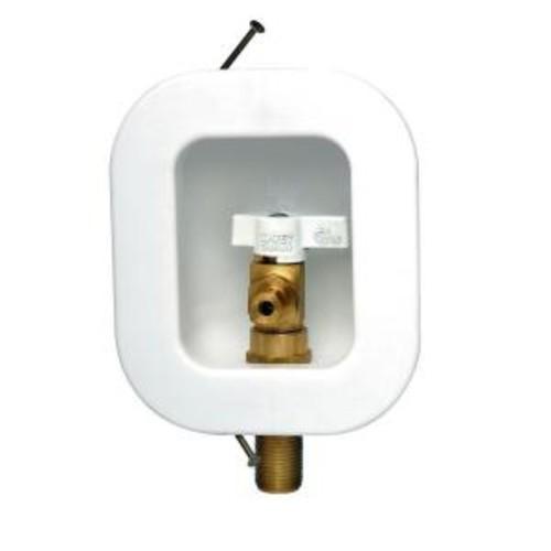 Oatey I2K Icemaker Outlet Box 1/4 Turn