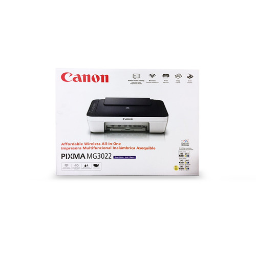 Canon PIXMA-MG3022 PIXMA MG3022 Wireless Inkjet All-in-One Printer/Copier/Scanner