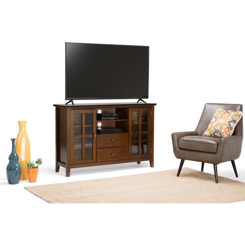 Simpli Home Artisan TV Media Stand for TVs up to 60