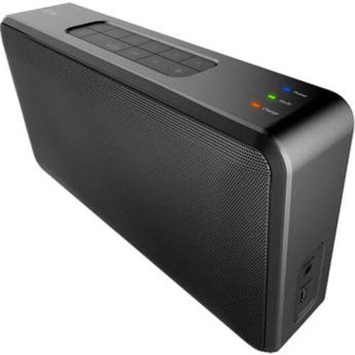 iLuv Wireless WiFi and Bluetooth Enabled Portable Stereo Speaker - Black