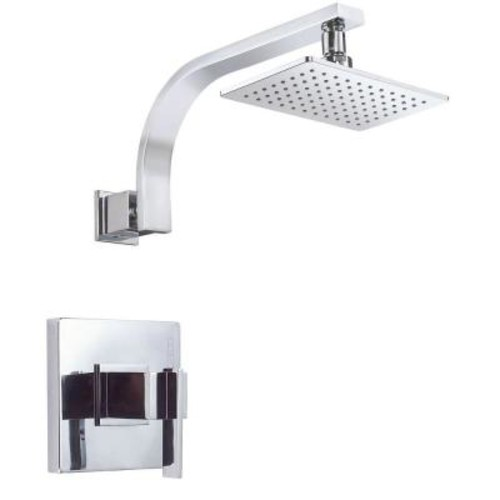 Danze Sirius Single-Handle Pressure Balance Shower Faucet Trim Kit in Chrome (Valve Not Included)