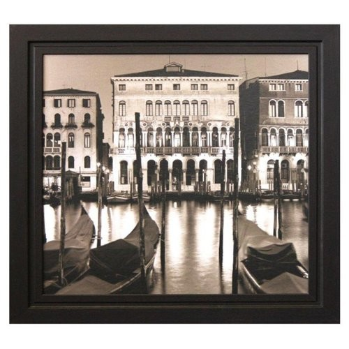 'Venice Grand Canal Sepia Tone' by Alan Blaustein Framed Photographic Print