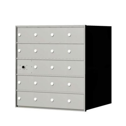 Florence 1,400 Series 19-Compartment Recessed Front Load Horizontal Mailbox