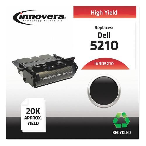 Dell Toner Cartridge, No. 5210, Black