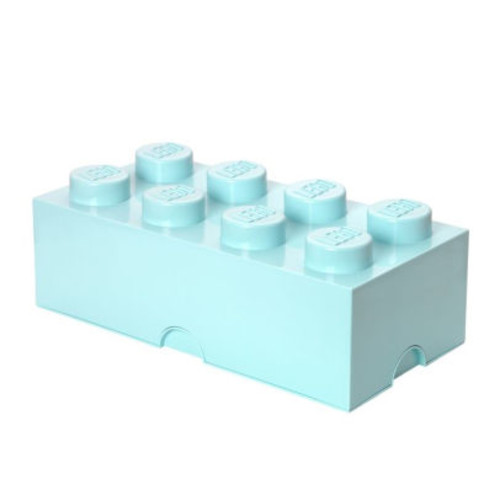 LEGO Storage Brick 8 Aqua