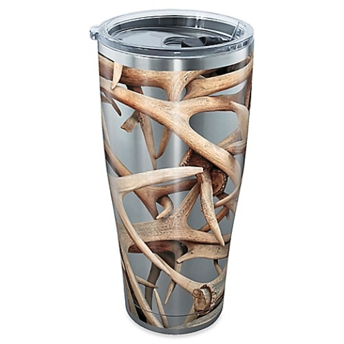 Tervis Great Outdoors Antlers 30 oz. Tumbler with Lid in Stainless Steel