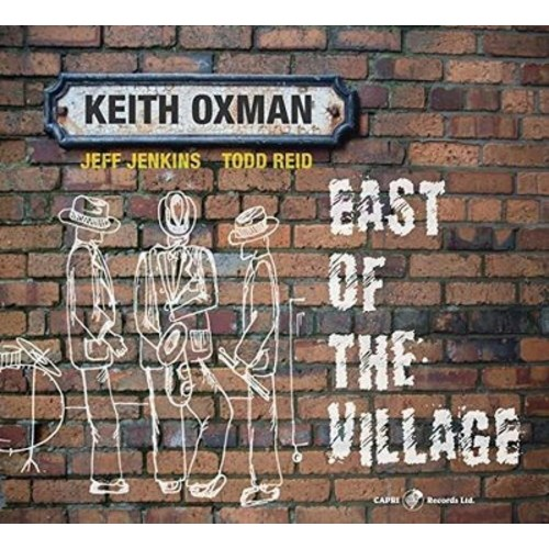 Keith Oxman - East Of The Village (CD)