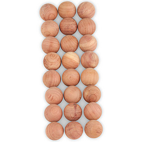 Honey Can Do Cedar Moth Balls, Natural (Pack of 120)