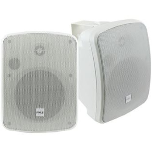 Pyle / Pyle-Pro - PDWR54BTW - PyleHome PDWR54BTW 2.0 Speaker System - 300 W RMS - Wireless Speaker(s) - White - 90 Hz -