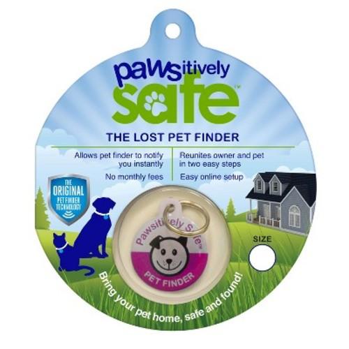 Platinum Pets Pet Finder Dog Tag - Medium/Large - Pink