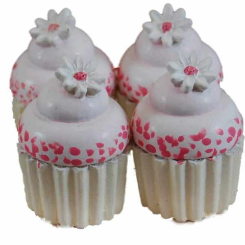 The Queen's Treasures American Bakery Collection -Set of 4 Mini Cupcakes Fits 18