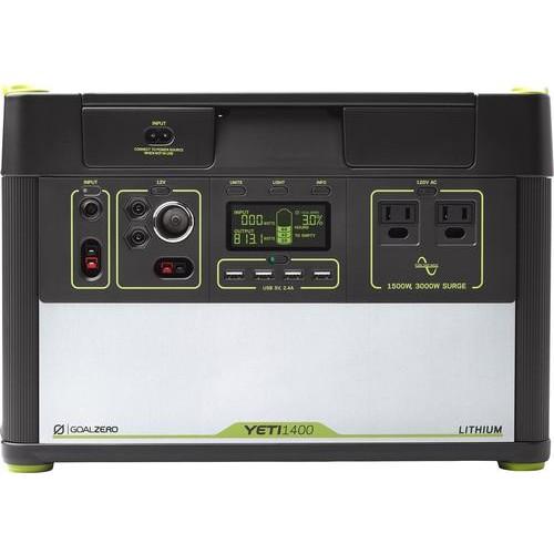 Goal Zero - Yeti 1400 Lithium Portable Power Station - Gray
