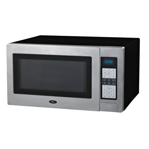 Oster OGZD1301G Stainless Steel 1100 Watt Microwave Oven