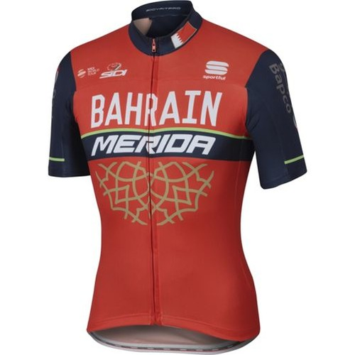 Sportful Bahrain Merida BodyFit Pro Team Jersey 2017 [Colour : ; count : 2]