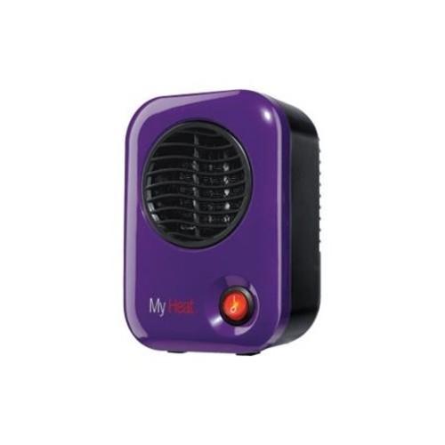 Lasko MyHeat Personal Heater - Ceramic - Electric - 200 W - Purple
