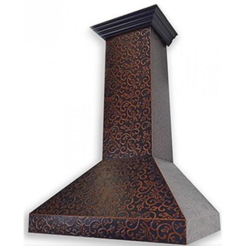 ZLINE 36-inch 1200 CFM Designer Series Wall Mount Stainless Steel Range Hood (8667F-36)