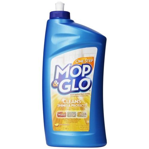 Mop & Glo Floor Cleaner, Multi-Surface, Fresh Citrus Scent 32 fl oz (1 qt) 946 ml