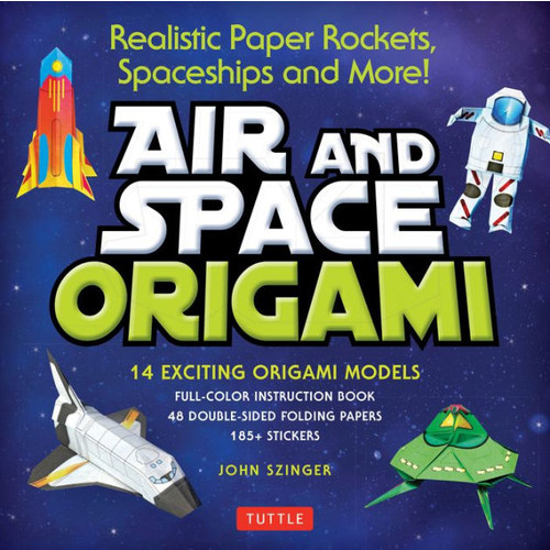Air and Space Origami Ebook: Paper Rockets, Airplanes, Spaceships and More! [Origami eBook]