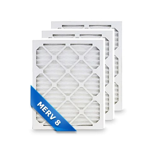 Replacement Pleated Air Filter for 20x30x1 Merv 8 (3-Pack)