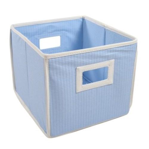Badger Basket Folding Basket and Storage Cube, Blue [Blue]