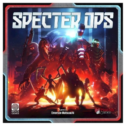 F2Z Plaid Hat Games Specter Ops Board Game