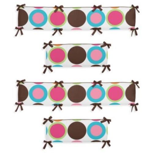 Sweet Jojo Designs Deco Dot Crib Bumper