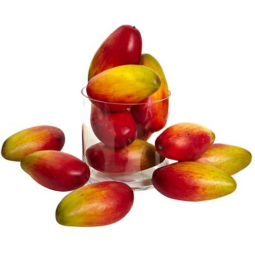 Nearly Natural Weighted Faux Mango (Set of 12)