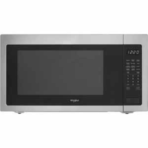 Whirlpool 2.2 cu. ft. Countertop Microwave with Sensor Cooking - Fingerprint Resistant Stainless Steel