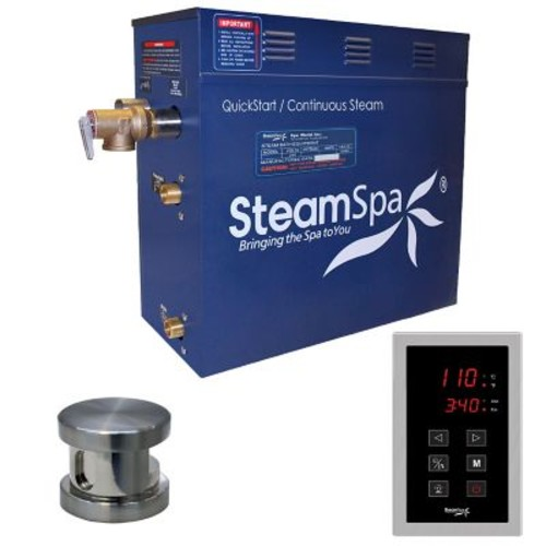 Steam Spa Oasis 6 kW QuickStart Steam Bath Generator Package; Oil Rubbed Bronze