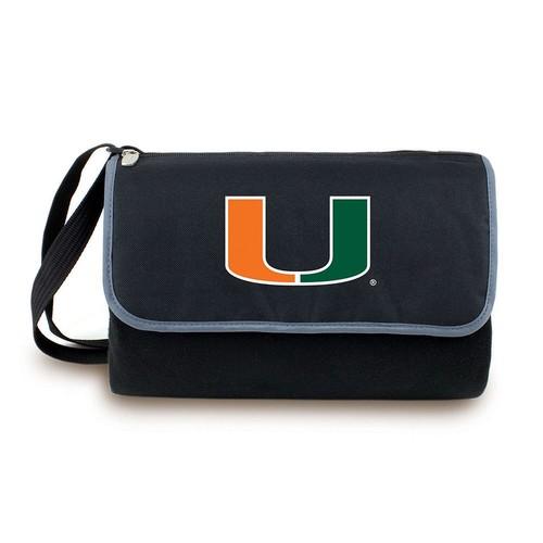 Picnic Time Collegiate Blanket Tote [Miami Hurricanes]